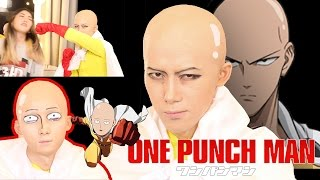getlinkyoutube.com-[곽토리 x 허팝] 원펀맨 사이타마 코스프레 메이크업 One Punch Man Cosplay Makeupㅣワンパンマンサイタマメイクアップ 원펀치맨