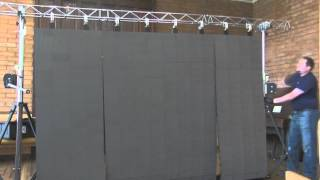 NEW!!! LED - Curtain Technology - set up video
