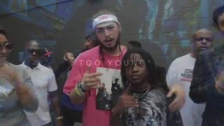 getlinkyoutube.com-Post Malone feat. Key! - Came Up (Music Video)