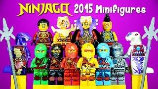 getlinkyoutube.com-2015 Ninjago in Zukin Robes LEGO KnockOff Minifigures Set 14 Masters of Spinjitzu