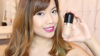 getlinkyoutube.com-Marc Jacobs Remarcable Full Cover Foundation Concentrate Review | Demo