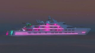 getlinkyoutube.com-GTA 5 DLC Update - NEW $10,000,000 SUPER YACHT Customization & Upgrades & Tour (GTA 5 New Update)