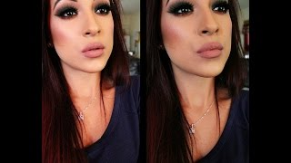 Green Dramatic Fall Smokey Eyes Using Lorac Pro Mega 2 & MUG Shadows