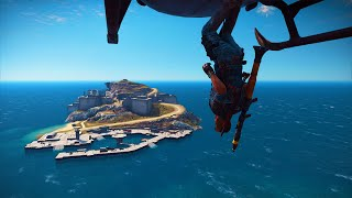 getlinkyoutube.com-WORLD'S STRONGEST ISLAND BASE! (Just Cause 3 Funny Moments)