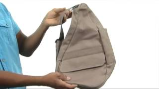 getlinkyoutube.com-AmeriBag, Inc. Hemp Healthy Back Bag® - Small SKU:#8012735