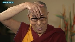 Watch the Dalai Lama impersonate Donald Trump