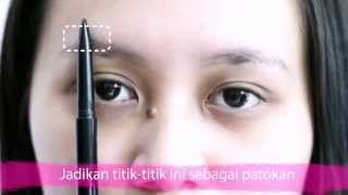 getlinkyoutube.com-Make-Up TUTORIAL: Membentuk Alis Korean Look