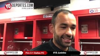 Juninho Chicago Fire 2-1 Dallas FC