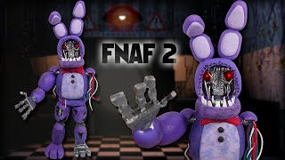 getlinkyoutube.com-FNAF 2 ✰ WITHERED BONNIE Posable Figure Tutorial ✔ Polymer Clay ✔ Porcelana Fría