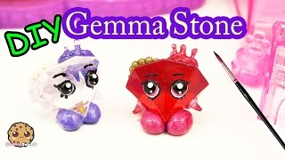 getlinkyoutube.com-DIY Valentines Day Red GEMMA STONE Custom Shopkins Do It Yourself Craft Video