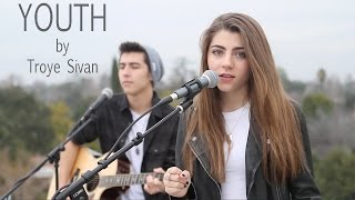 getlinkyoutube.com-YOUTH by Troye Sivan cover by Jada Facer ft. Kyson Facer
