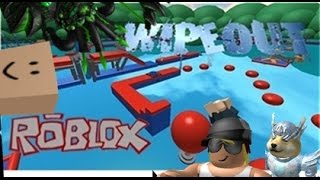 getlinkyoutube.com-Family Game Nights Plays: Roblox - Longest Wipeout in Roblox (PC)
