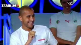 استضافة لاعبي المنتخب الجزائري  في  beIN SPORT