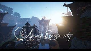 getlinkyoutube.com-[Minecraft Timelapse] Arwen, Elven City