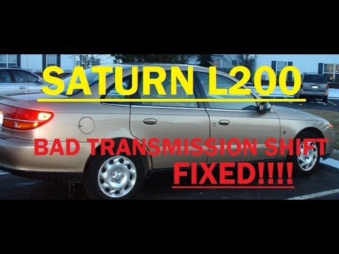 EASY Saturn L200 Transmission Filter and Fluid Replacement
