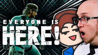 Smash Bros Ultimate Reaction (ft. PG's ESAM, MVD, Infiltration, Nakkiel, Alpharad, & more)