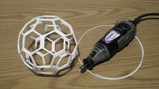 getlinkyoutube.com-Friction Welded Truncated Icosahedron (Buckyball)