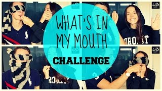 getlinkyoutube.com-What's in my mouth challenge   Med Emil ♥