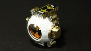 getlinkyoutube.com-金色塗装!仮面ライダーゴースト DXオレゴーストアイコン Gold paint! Kamen Rider Ghost DX Ore Ghost icon
