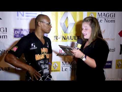 Entrevista com Anderson Junior para etapa Indaiatuba do Circuito Talent Renault de MMA - julho/2013