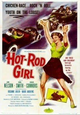 Hot Rod Girl - Leslie H. Martinson - 1956 Movieposter