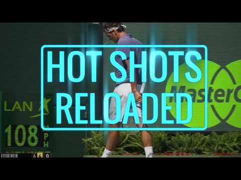 HOT SHOTS RELOADED: Federer`s insane reflex backhand | Miami Open 2014