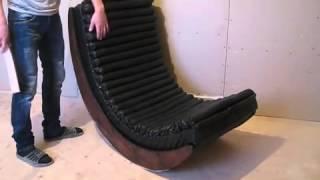 Кресло качалка  Как сделать самому  Часть 2
