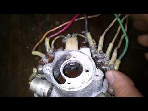 Электрика ИЖа. Подключение проводки от генератора до блока БПВ. Electrical IL