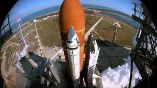 هل شاهدت هذا المنظر من قبل ؟ انطلاق صاروخ HD