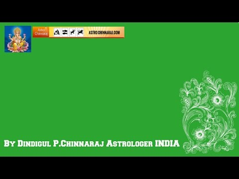 Prasanna jothidam by Dindigul P.Chinnaraj Astrologer INDIA