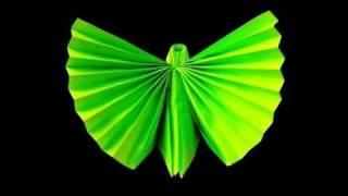 getlinkyoutube.com-How to make an Origami (Napkin) Butterfly