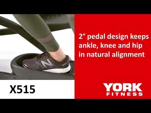 York X515 Front Drive Cross Trainer