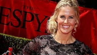 getlinkyoutube.com-Top Skier Sarah Burke in Coma After Halfpipe Crash Training for X-Games