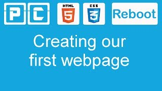 getlinkyoutube.com-HTML5 and CSS3 beginners tutorial 2 - creating our first web page