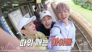 [ENG SUB] Travel The World On EXO's Ladder BEHIND CUT 1