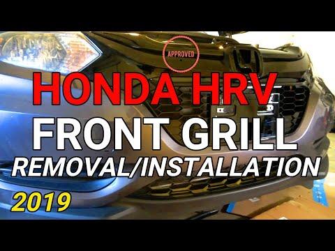 Honda HRV Front Grill Removal/Installation