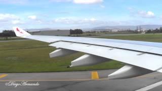 getlinkyoutube.com-Avianca Airbus A330 Despegue de El Dorado Bogotá trip report
