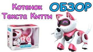 Обзор на игрушку - Котенок Текста Китти (Teksta Kitty)