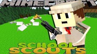 getlinkyoutube.com-Minecraft School Scouts - ARMY RANGER BADGE!!