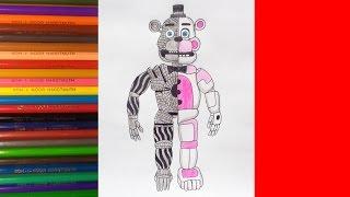 getlinkyoutube.com-How to draw Funtime Freddy, FNaF Sister Location, Как нарисовать фантайм Фредди