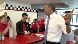 getlinkyoutube.com-President Barack Obama Makes Surprise Visit