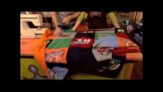 getlinkyoutube.com-How to Sew a T-Shirt Quilt