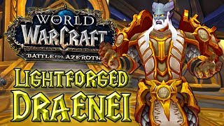 Lightforged Draenei - Spojenecká Rasa Aliance - World of Warcraft: Battle for Azeroth [CZ]