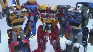 getlinkyoutube.com-또봇 트라이탄 쉴드온  장난감 Tobot Power Rangers Dino Charge Toys 파워레인저 다이노포스 티라노킹