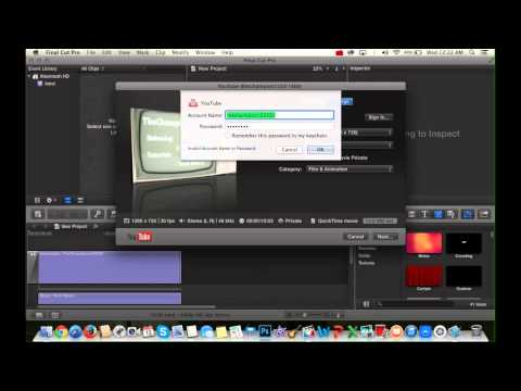 Tutorial: Final Cut Pro X