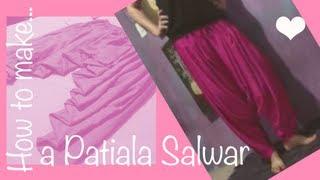 getlinkyoutube.com-☁ How to make a perfect patiala salwar ♥  Cloud Factory