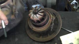 getlinkyoutube.com-When to Replace a Turbocharger - Engine Parts Maintenance Tip from Internet Diesel
