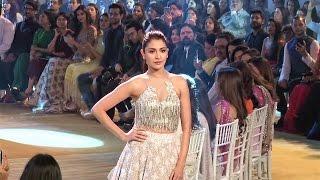 Showstopper Anushka Sharma walks the ramp at Mijwan Fashion Show 2017 | Full Ramp Walk Video.