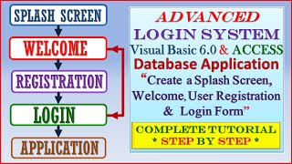 Advanced Login System using Visual Basic 6.0 and MS Access-Step by Step Tutorial