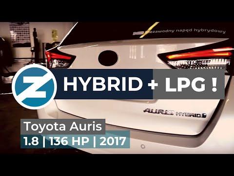 ZENIT   Hybrydowa Toyota Auris z instalacja gazowa LPG Zenit